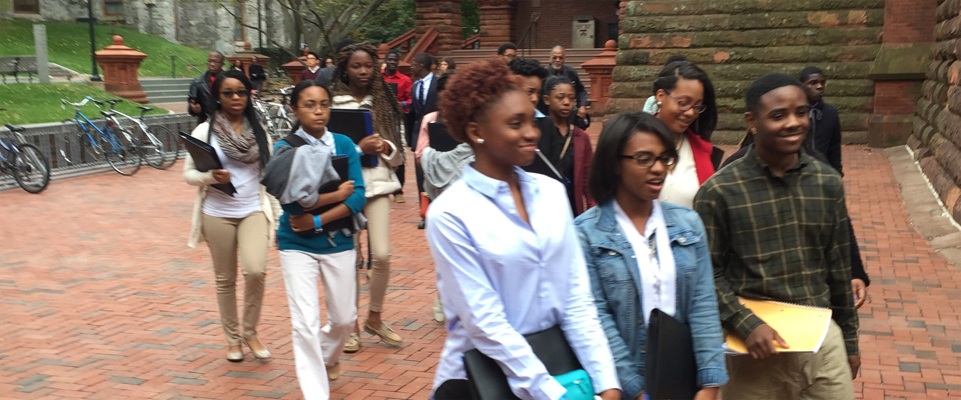 We help underrepresented students see top colleges as real options